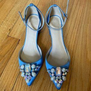 Pretty statement heel, worn twice!